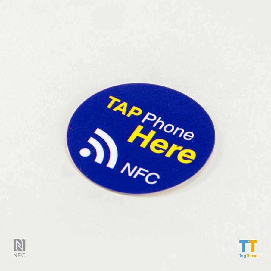 NFC Tag Sticker 30mm