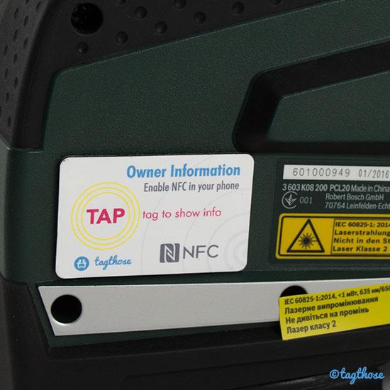 TagThose NFC ID Sticker