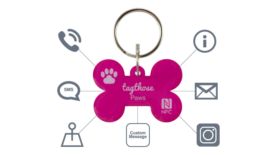 TagThose Paws NFC Smart Pet Tags