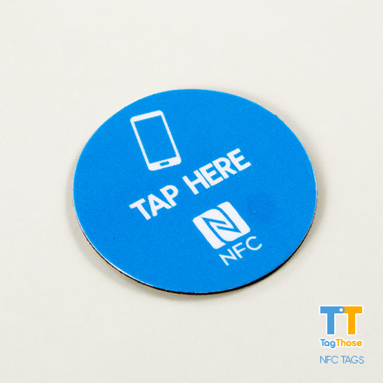 Round Anti Metal NFC Sticker