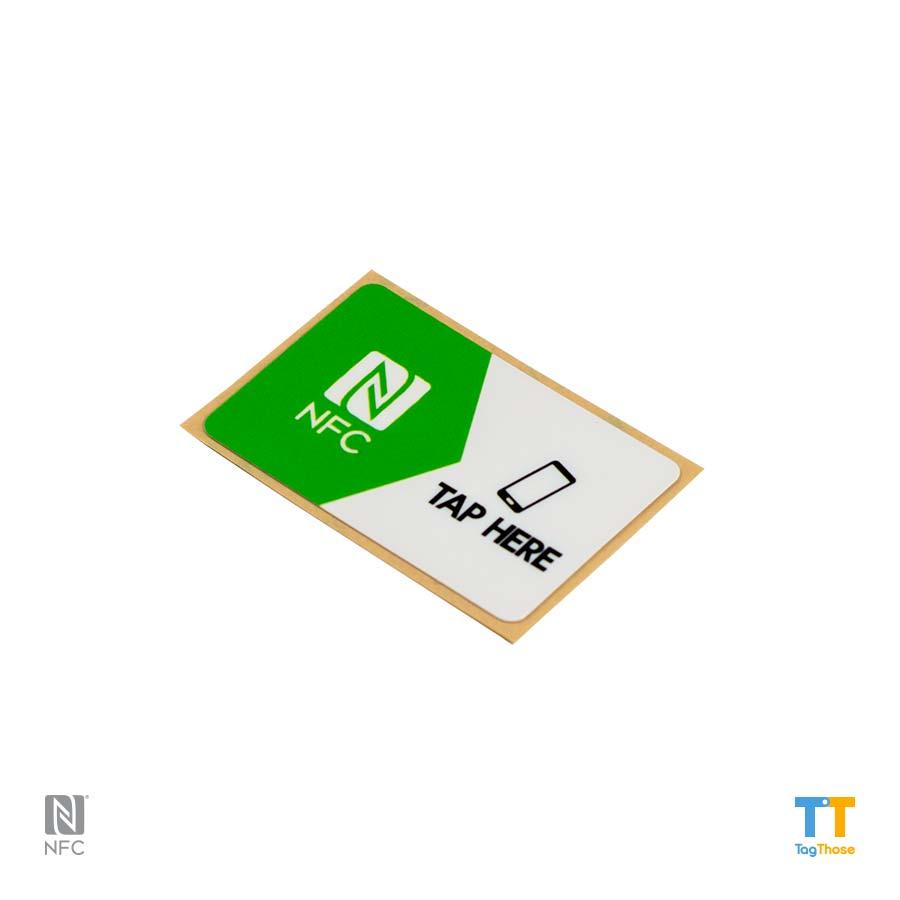NFC stickers NTAG216rectangle