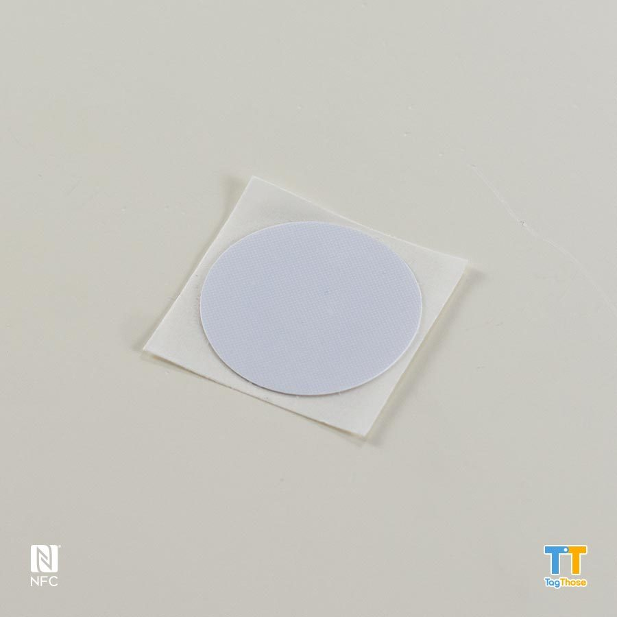 Plain Round NFC Sticker