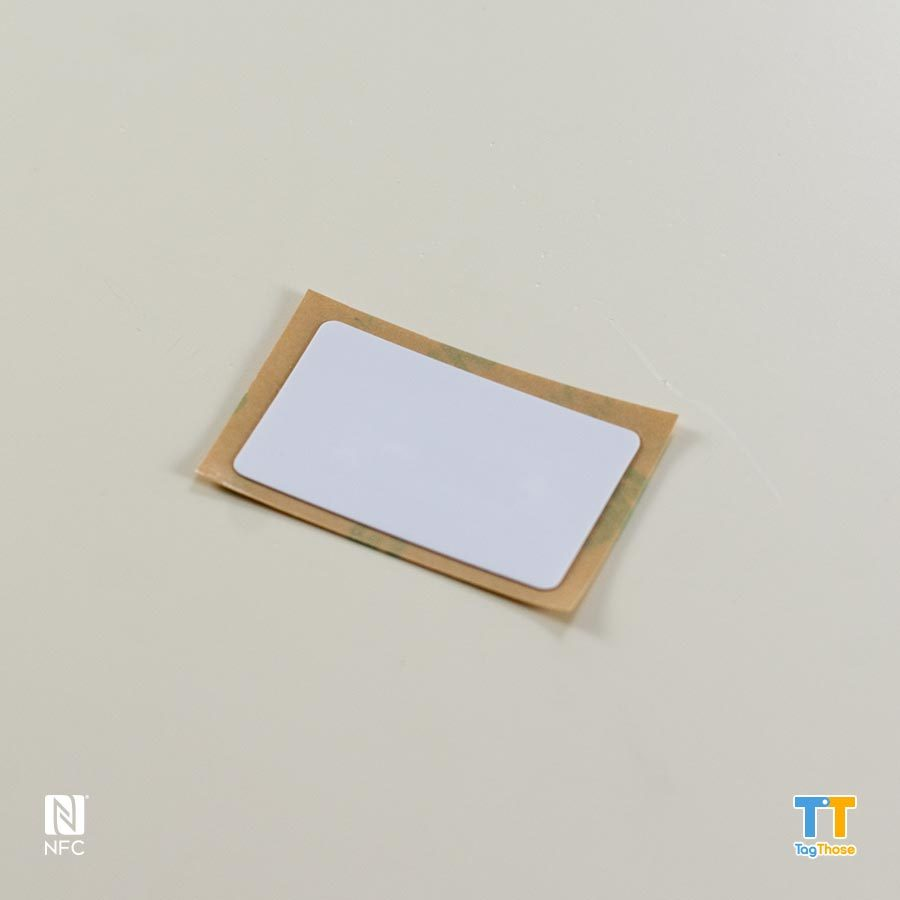 Plain Rectangle NFC Sticker