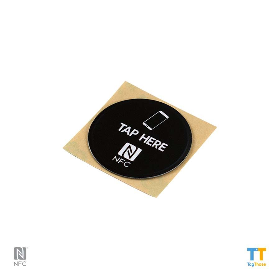 antimetal NFC stickers NTAG216round