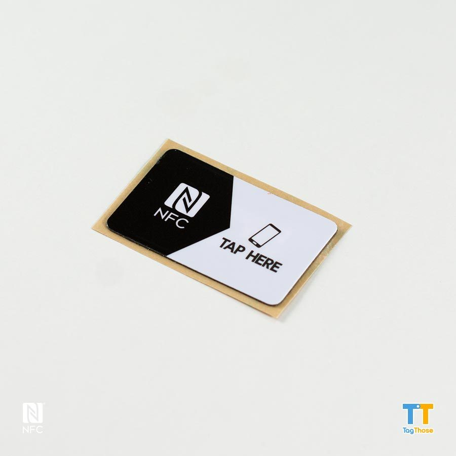 Antimetal NFC Stickers NTAG216Rectangle