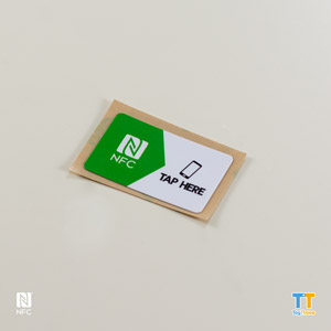 Printed NFC Stickers NTAG216Rectangle