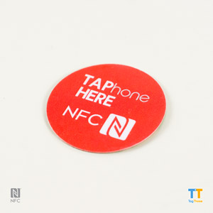 Printed NFC Stickers NTAG216Round