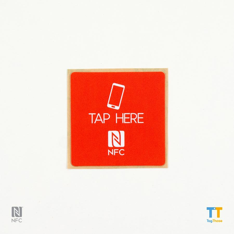 NFC stickers NTAG213square