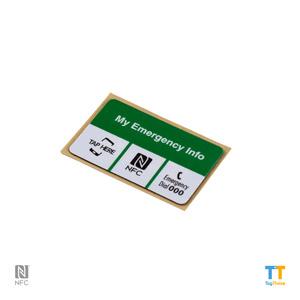 Emergency NFC Sticker