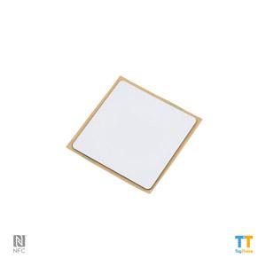 Plain Antimetal NTAG216 Square