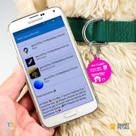 NFC Pet Tags