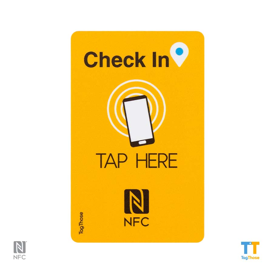 Check In NFC Tags